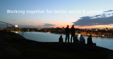 Working Together for Better World and Ummah