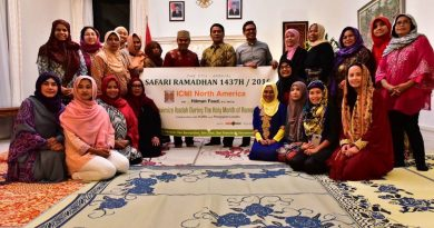 Safari Ramadhan 1437H/2016 in San Francisco Bay Area & Sacramento Area Report
