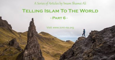 Telling Islam To The World – Part 6