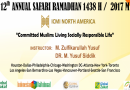 "Safari Ramadhan 2017: ""Committed Muslim: Living a Socially Responsible Life"""
