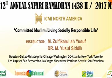 "Safari Ramadhan 2017: ""Committed Muslim: Living a Socially Responsible Life"""