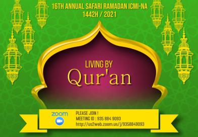 Safari Ramadan 1442H/2021: Living by Qur'an